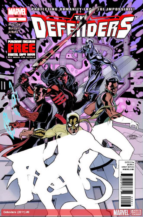 DEFENDERS 9 (WITH DIGITAL CODE)