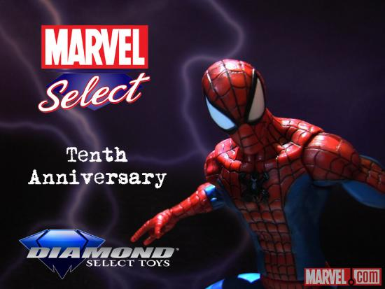 Marvel Select 10th Anniversary Contest Spider-Man Image