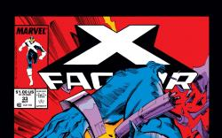 X-Factor (1986) #33 Cover