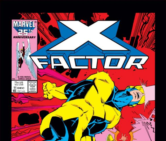 X-Factor (1986) #11 Cover