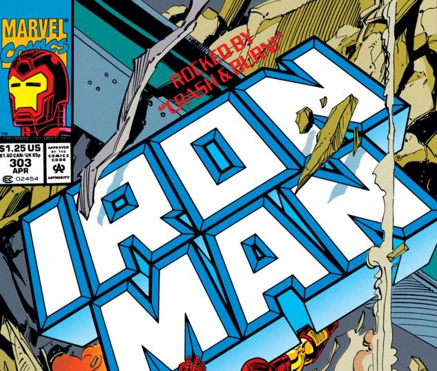 Iron Man (1968) #303 Cover