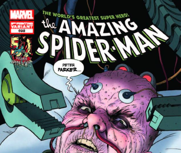 AMAZING SPIDER-MAN 698 3RD PRINTING VARIANT