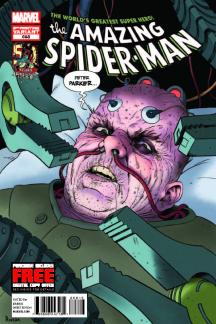 Amazing Spider-Man (1999) #698 (3rd Printing Variant)