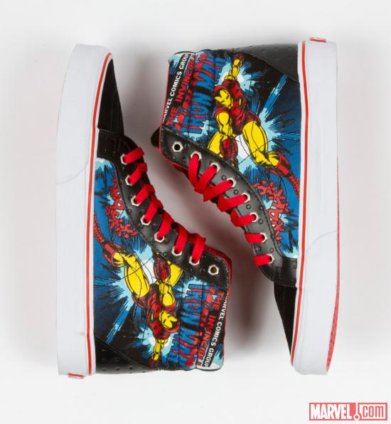 Marvel Inspired Vans