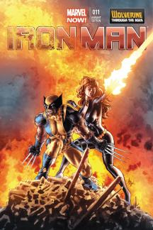 Iron Man #11  (Deodato Wolverine Costume Variant)