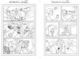 Avengers A.I. #1 sketch by André Lima Araújo