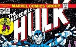 Incredible Hulk (1962) #191 Cover