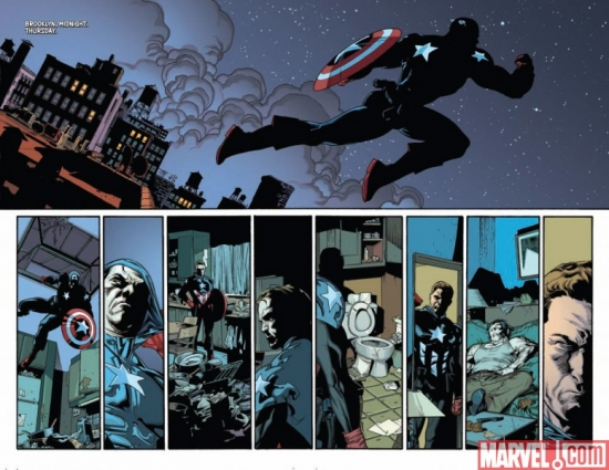 NEW AVENGERS #55, pages 5-6