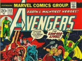 AVENGERS #112 cover