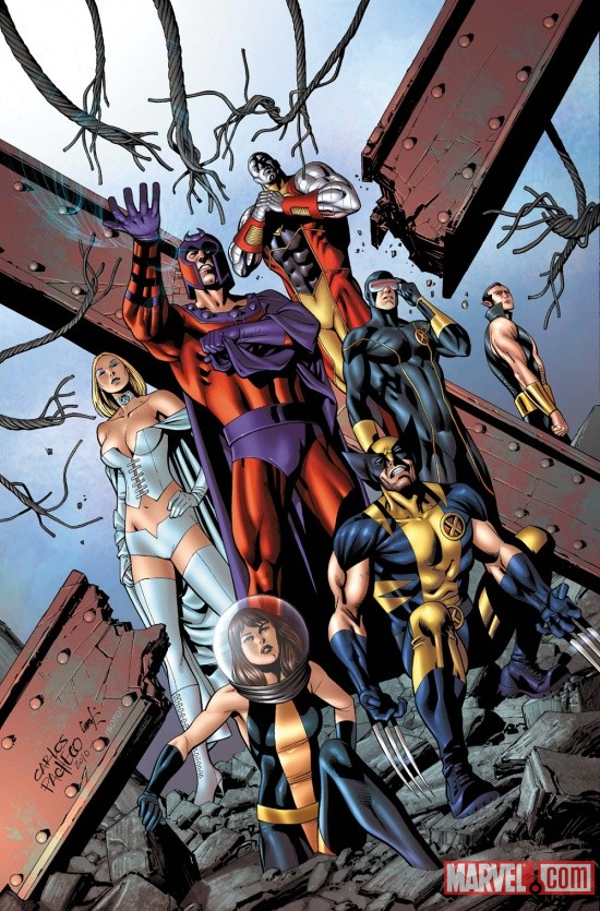 Uncanny X-Men #534.1 cover by Carlos Pacheco