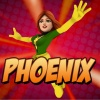 Phoenix from The Super Hero Squad Online