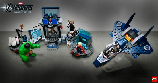 Hulk's Helicarrier Breakout from LEGO's Marvel's The Avengers collection