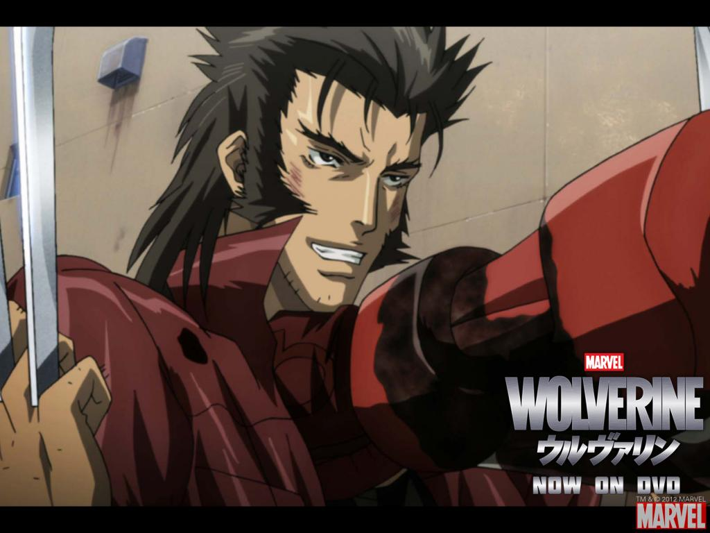 Wolverine Anime Series Wallpaper #4