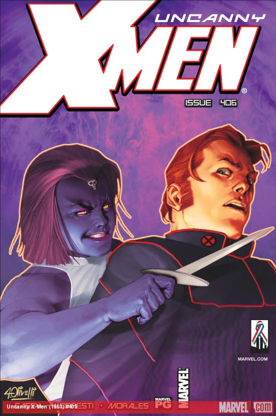Uncanny X-Men #406 Cover