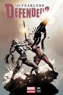 Fearless Defenders #1  (Deodato Variant)