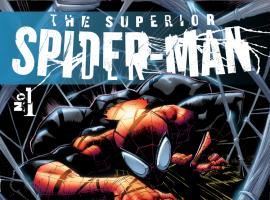 cover from Superior Spider-Man (2013) #1 (2ND PRINTING VARIANT)