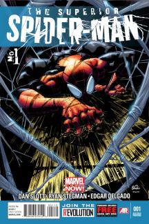 Superior Spider-Man #1  (2nd Printing Variant)