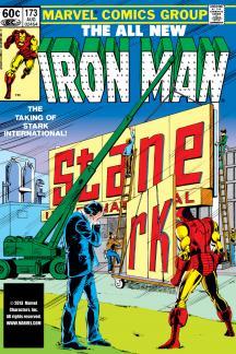 Iron Man (1968) #173 Cover