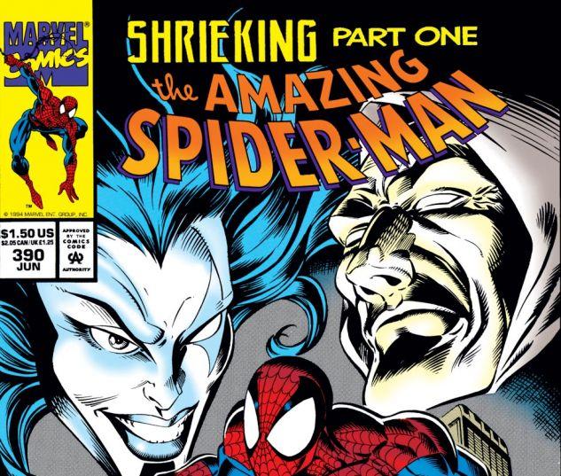 Amazing Spider-Man (1963) #390 Cover