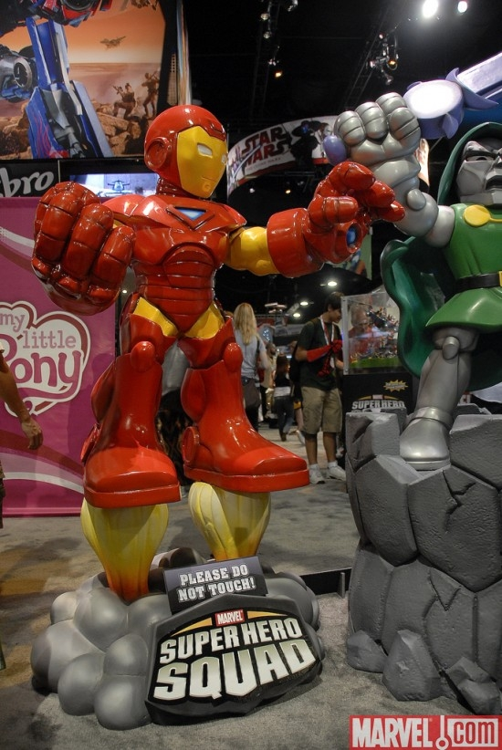 Iron Man Super Hero Squad statue