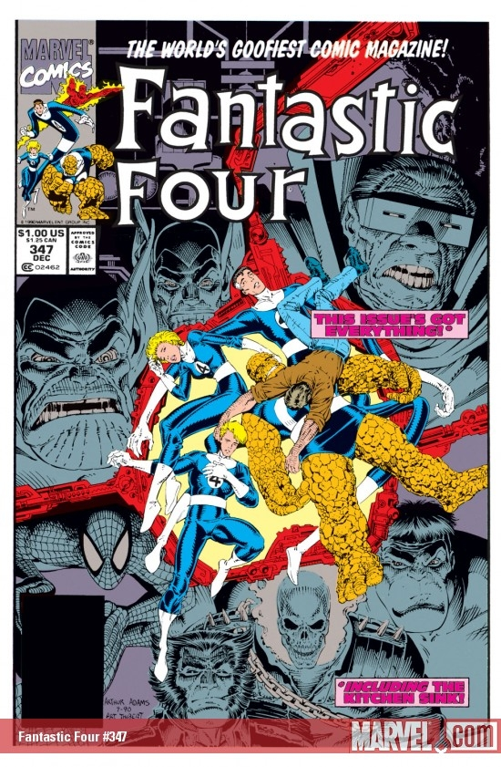 Fantastic Four (1961) #347