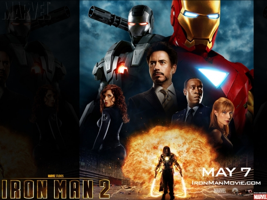 Iron Man 2: Movie Poster #4