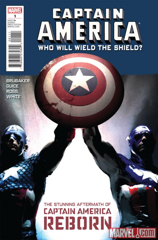 Bucky wields the shield