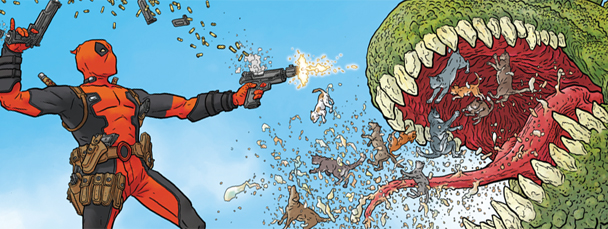 Sneak Peek: Deadpool #1