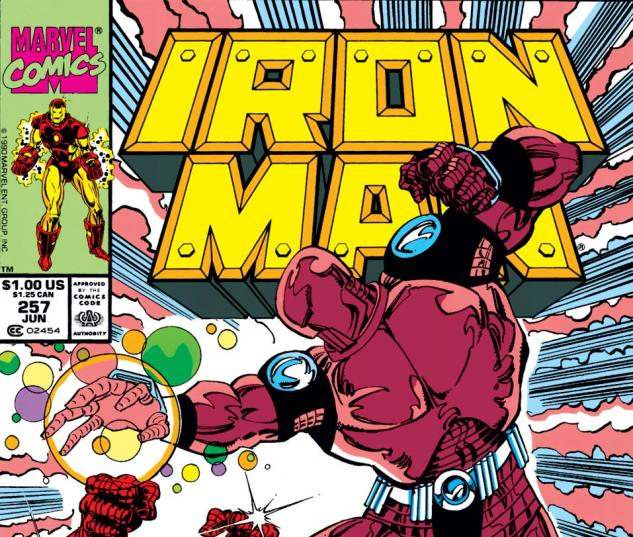Iron Man (1968) #257 Cover