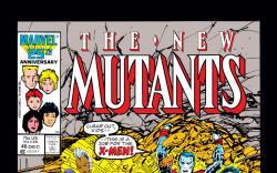 New Mutants (1983) #46 Cover