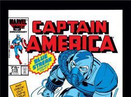 Captain America (1968) #318 Cover