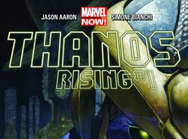 Thanos Rising #1 cover by Simone Bianchi