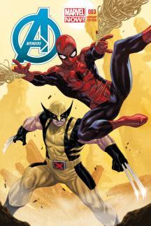 Avengers #3  (Brooks Variant)