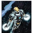 Mark 39 Starboost poster by Mike Perkins for Marvel's Iron Man 3 from Red Baron