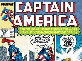 Captain America (1968) #355 Cover