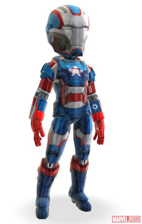 Iron Patriot armor, now available in the Xbox LIVE Marketplace