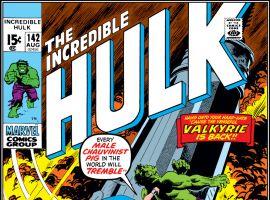 Incredible Hulk (1962) #142 Cover