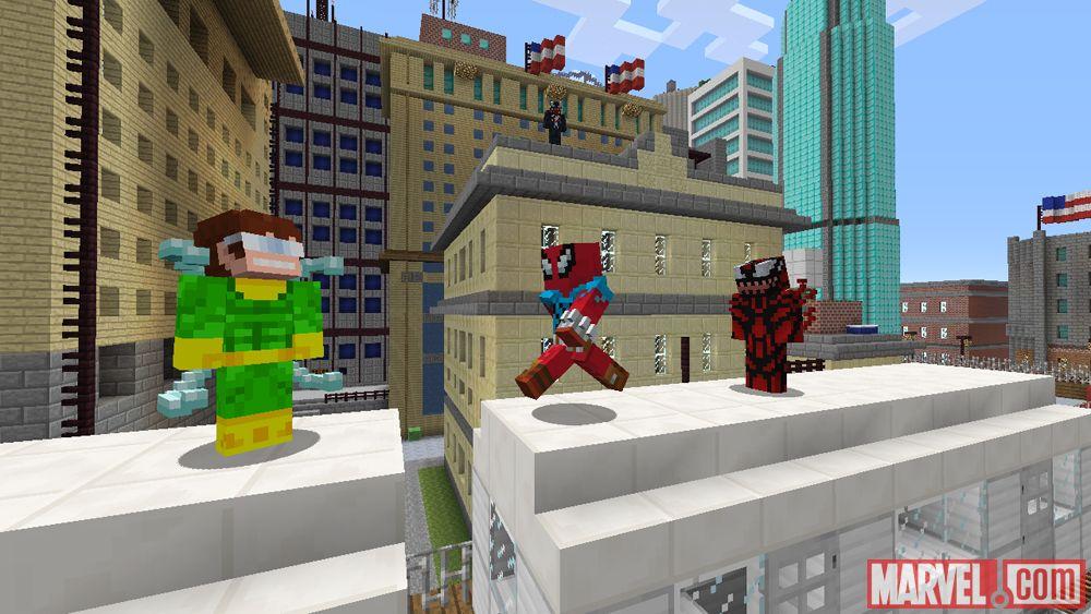 скачать карту на майнкрафт новый человек паук #10