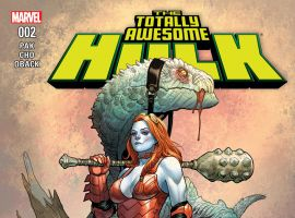 cover from The Totally Awesome Hulk (2015) #2