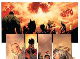 Avengers Vs. X-Men #11 art by Olivier Coipel