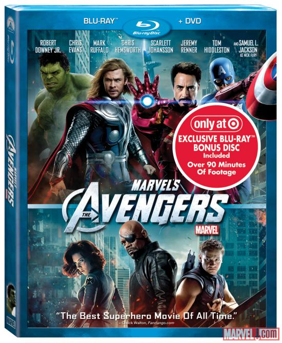 Marvel's The Avengers Blu-ray Combo Pack