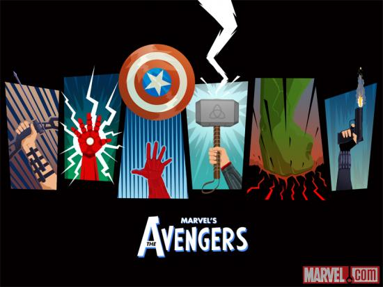 Free Marvel's The Avengers poster by Matthew Ferguson