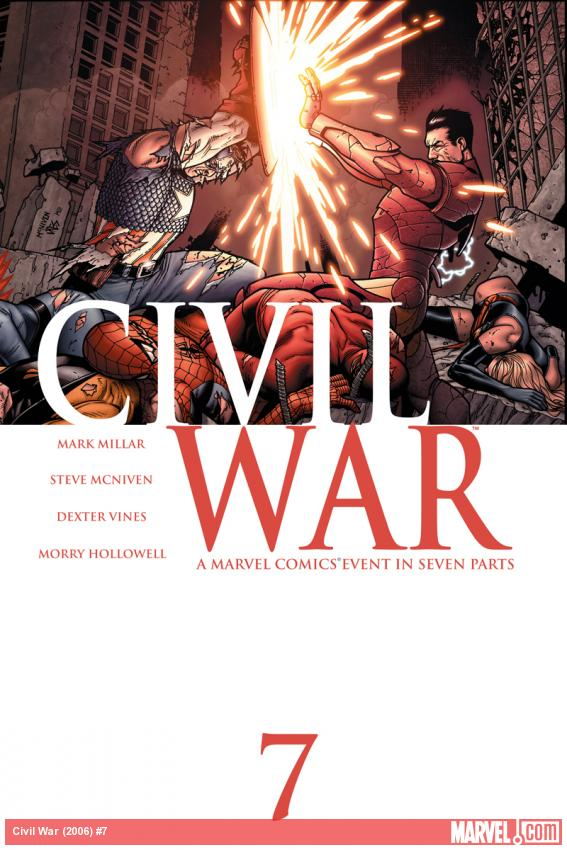 Cover: Civil War (2006) #7