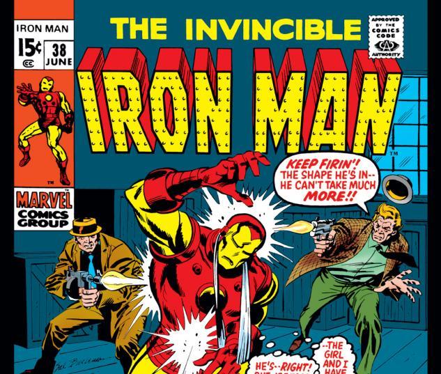 Iron Man (1968) #38 Cover