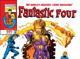 Fantastic Four (1998) #11 Cover