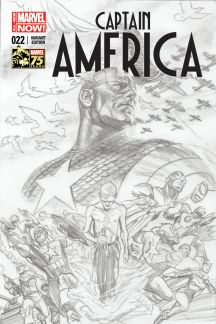 Captain America #22  (Ross 75th Anniversary Sketch Variant)