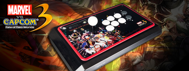 Marvel vs. Capcom 3 Tournament Edition Arcade FightStick from Mad Catz