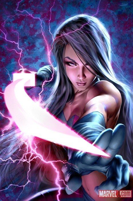 Psylocke by Alex Garner