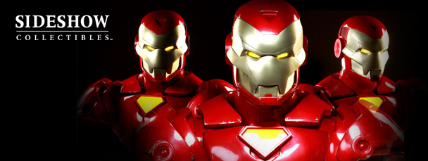 New From Sideshow Collectibles: Iron Man Bust