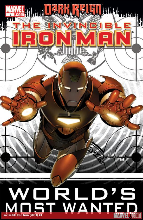 Invincible Iron Man (2008) #8